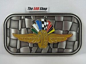 Indianapolis Motor Speedway Logo Belt Buckle Limited Edition 393 Of 500 IMS