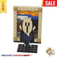 New World famous painting Mini Version The Scream Building Blocks Bricks Toys