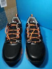 CMP Mens Lahmuu Fast Hiking Shoes Waterproof Black size uk 9 eur 43 new