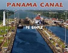 PANAMA CANAL #1 - travel souvenir flexible fridge magnet