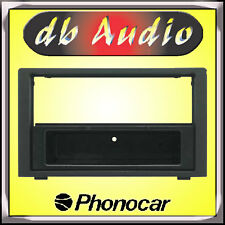 Phonocar 3/382 Mascherina Autoradio Saab 9.3 Nero 2 DIN Adattatore Cornice Radio
