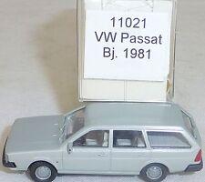 Plata Metalizado VW Passat Año 1981 Imu Euromodell 11021 H0 1:87 Emb.orig # Å