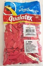 "Qualatex 6"" Red Heart Balloons~100 ct."