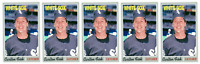 (5) 1992 Baseball Card Monthly #42 Carlton Fisk Baseball Card Lot White Sox