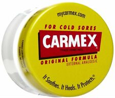 Carmex Original Formula Lip Balm Jar for Cold Sores Dry Chapped Lips 7.5g