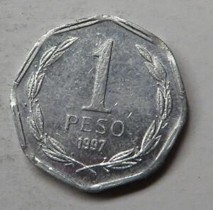 Chile Peso 1997So Narrow date Aluminum KM#231