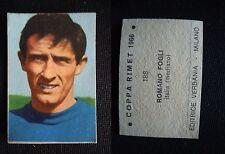 ***FIGURINA COPPA RIMET 1966*** LAMPO/VERBANIA - N.188 FOGLI (ITALIA)