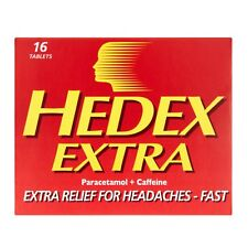 Hedex Extra Fast Headache Relief Tablets 16 - Multibuy