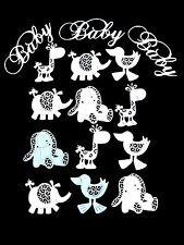 New Release: Set 15 Various Tattered Lace & Marianne Design Baby Die Cuts.