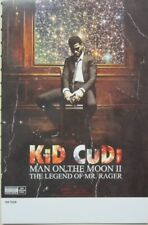 KID CUDI 2010 Man On The Moon Promotional Poster New Old Stock Flawless