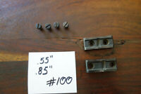 Ruger No 1 Rifle Scope Base Blocks Good Shape Factory Original W/ Screws