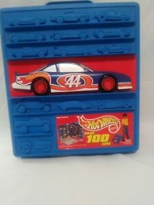 Hot Wheels Case  On Wheels Holds 100 Cars