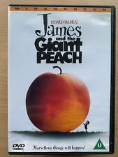 James and the Giant Peach DVD 1996 Tim Burton / Roald Dahl Kids Classic