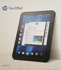 HP TouchPad FB359UA 32GB, Wi-Fi, 9.7in Black Dual Boot WebOS + Android cyanogen