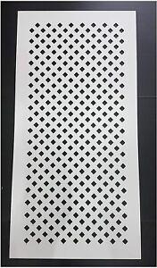 Diamond Decorative Radiator Panel . 3mm x 1215mm x 610mm