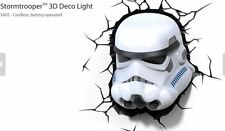 STAR WARS STORM TROOPER STORMTROOPER 3D LED DECO WALL LIGHT NIGHT LIGHT