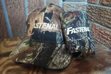 Fastenal Industrial Camo Hunter Baseball Strapback Hat Cap with Beer Sleeve NEW
