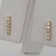 .12 CT  DIAMOND EARRING 14KT ROSE  GOLD