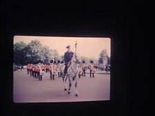 slide London England Soldier Military Changing Guard March Buckingham Palace