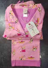 MUNKI MUNKI Classic Pajama Set with Holiday Dachshund Design Size L 100% Cotton
