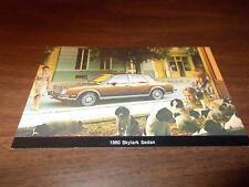 1980 Buick Skylark Sedan Vintage Advertising Postcard