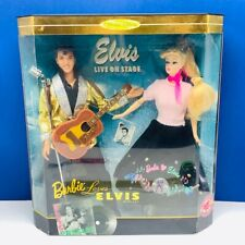 Barbie loves Elvis Presley doll collector edition 1996 Mattel vintage 17450 nib