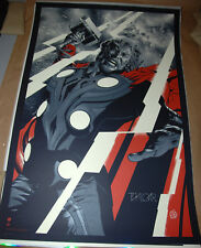 GID VARIANT AP Martin Ansin Thor Avengers Poster Mondo Screen Print movie mondo