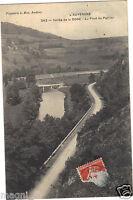 63 - cpa - Vallée de la DORE - Au pont du Perrier