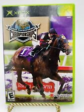 Breeders' Cup World Thoroughbred Championships (Xbox, 2005) Tested and Working
