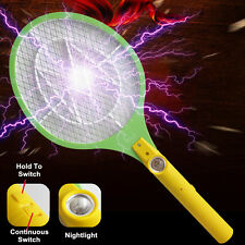 AA Batteries Electric Insect Pest Bug Fly Mosquito Zapper Swatter Killer Racket