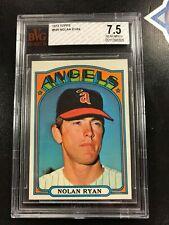 1972 Topps Nolan Ryan # 595 BVG 7.5 Nr Mint +