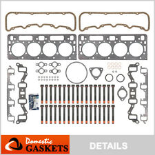 "92-02 Chevrolet GMC 6.5L Turbo Diesel 0.010"" thicker Head Gasket Set Head Bolts"
