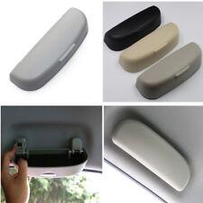 1x Grey Color ABS Plastic Sunglasses Box Storage Car Interior Storage Accessory
