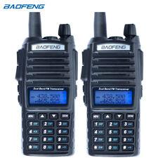 2PCS Baofeng UV-82 Dual Band Two-Way Radio 136-174MHz VHF & 400-520MHz UHF Black