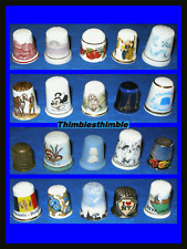 20 ASSORTED CHINA THIMBLES.....SET A