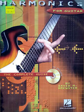 Harmonics for Guitar: The Complete Guide Paperback / CD Included