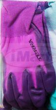 1 Pairs Womens Garden Gardening Gloves Glove Nitrile Coated Work Set NEW