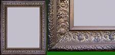 splendida antica cornice legno pastiglia foglia oro fine '800 est77x65 int60x48