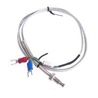 WRNT-02 Elemento Termo Tipo K 0…600 ﹾ C M6 Cable 1m Sensor de Temperatura