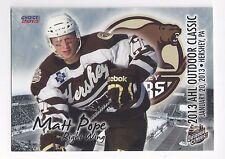 2012-13 AHL Outdoor Classic Matt Pope (Cardiff Devils)