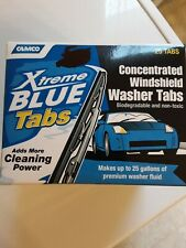 New listing Camco Xtreme Blue 25 Windshield Washer Fluid Tabs (25) Tablet Makes 25 Gallons
