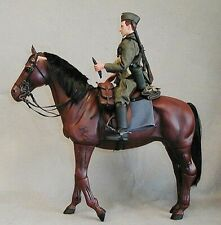 1/6 WWII German Cavalry Horst Blitz horse Dragon GI Joe Ultimate Soldier BBI