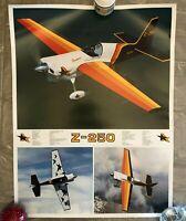 Midway Monoplane Z-250 Poster, Pilot - J.Michael Wigen