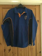 REMARKABLE Boys Navy/Royal Blue Long Sleeved AGS logo Sports Top Chest 30-32