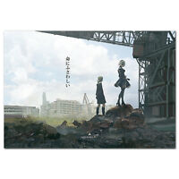 Nier Automata Poster - The Art of Nier Automata Cover - High Quality Prints