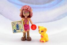 LEGO New Elves Azari Firedancer Magenta and Gold with Birdcage Tile 41185