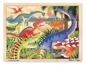 Melissa & Doug - Dinosaurs Jigsaw - 24pc