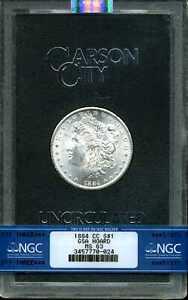 1884-CC GSA Hoard $1 Morgan Silver Dollar MS63 NGC 3457770-024