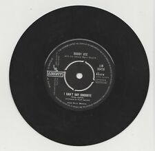 """BOBBY VEE: I CAN'T SAY GOODBYE/PLEASE DON'T ASK ABOUT BARBARA: 7"""" UK EX/EX"""
