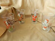 4 homer simpson christmas glasses 6 inches tall  2010   Icup inc.